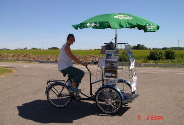 Christiania Bikes NoBox kuormapyörän runko