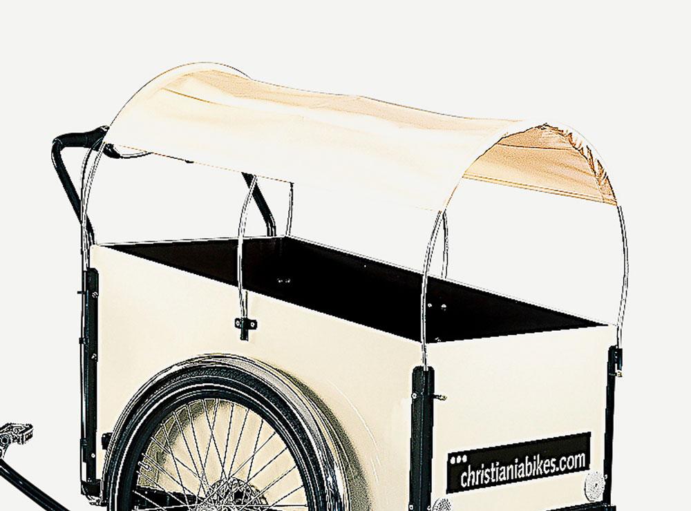 Christiania Bikes Preeria aurinkovarjo-Musta