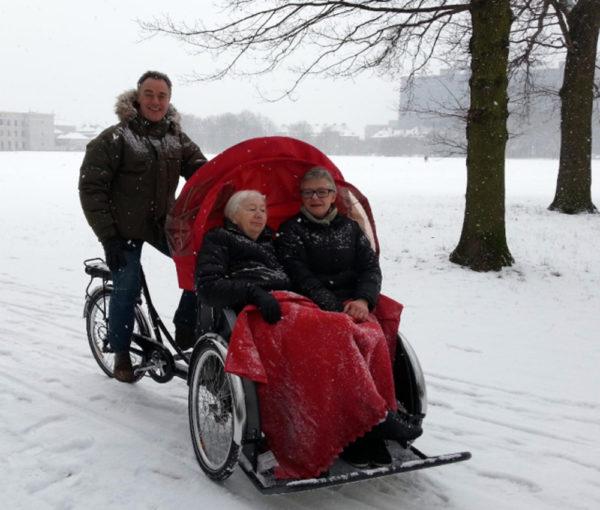 Christiania Bikes Taxi sähköavusteinen riksapyörä