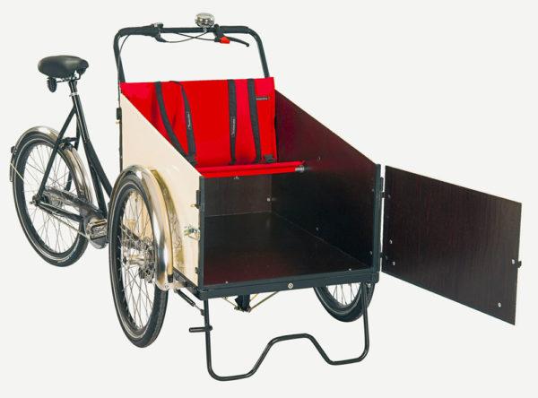 Christiania Bikes tukijalka kopan eteen
