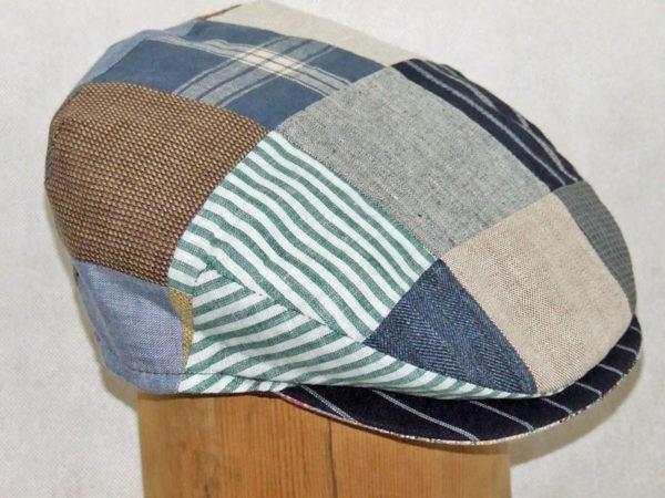 Hanna Hats Wool Patchwork Cap