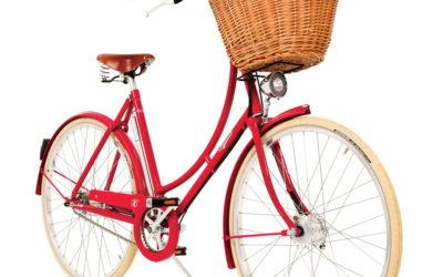Pashley Britannia naisten 8-vaihteinen pyörä – punainen