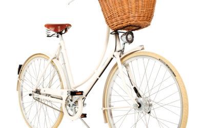 Pashley Britannia naisten 8-vaihteinen pyörä – valkoinen