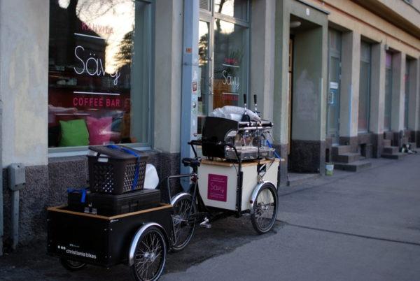 Christiania Bikes pyörän Peräkärry