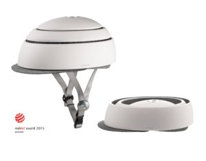 CLOSCA taittuva kypärä - Valkoinen