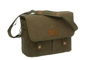 New Looxs Mondi Canvas olkalaukku / tavaratelineen laukku - Vihreä