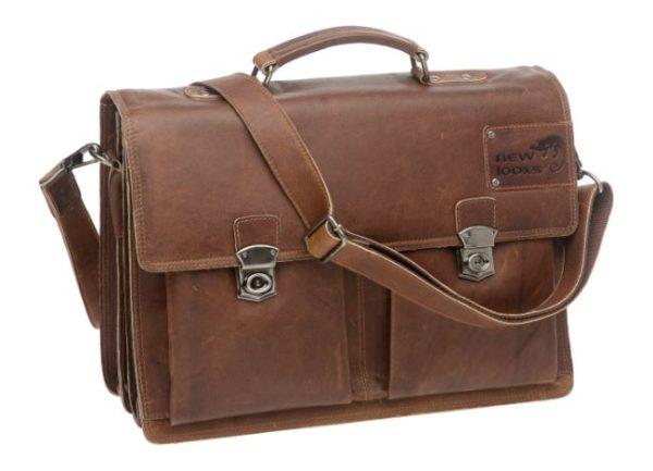 New Looxs Sorento tavaratellineen laukku nahkaa - Konjakki