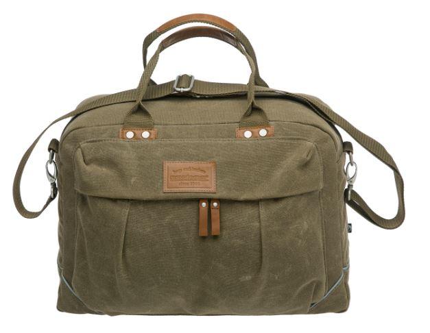 New Looxs Utah Canvas olkalaukku / tavaratelineen laukku - Vihreä