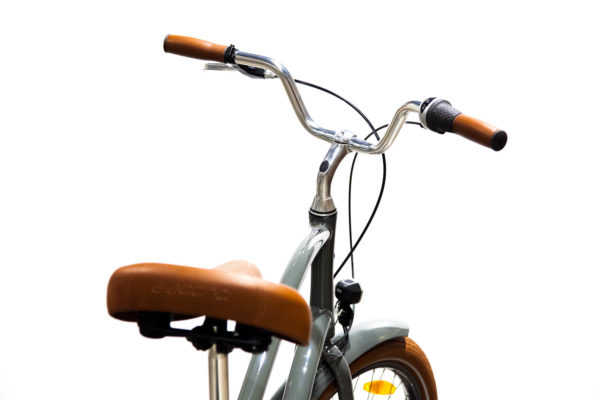 Electra Townie Balloon 7i EQ - harmaa Army Grey