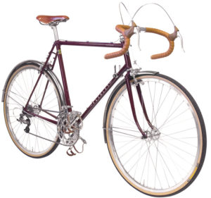 Pashley Clubman Country - Viininpunainen