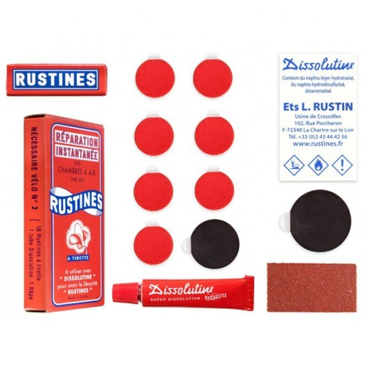 Rustines Patch Kit Box kumin paikkaussarja