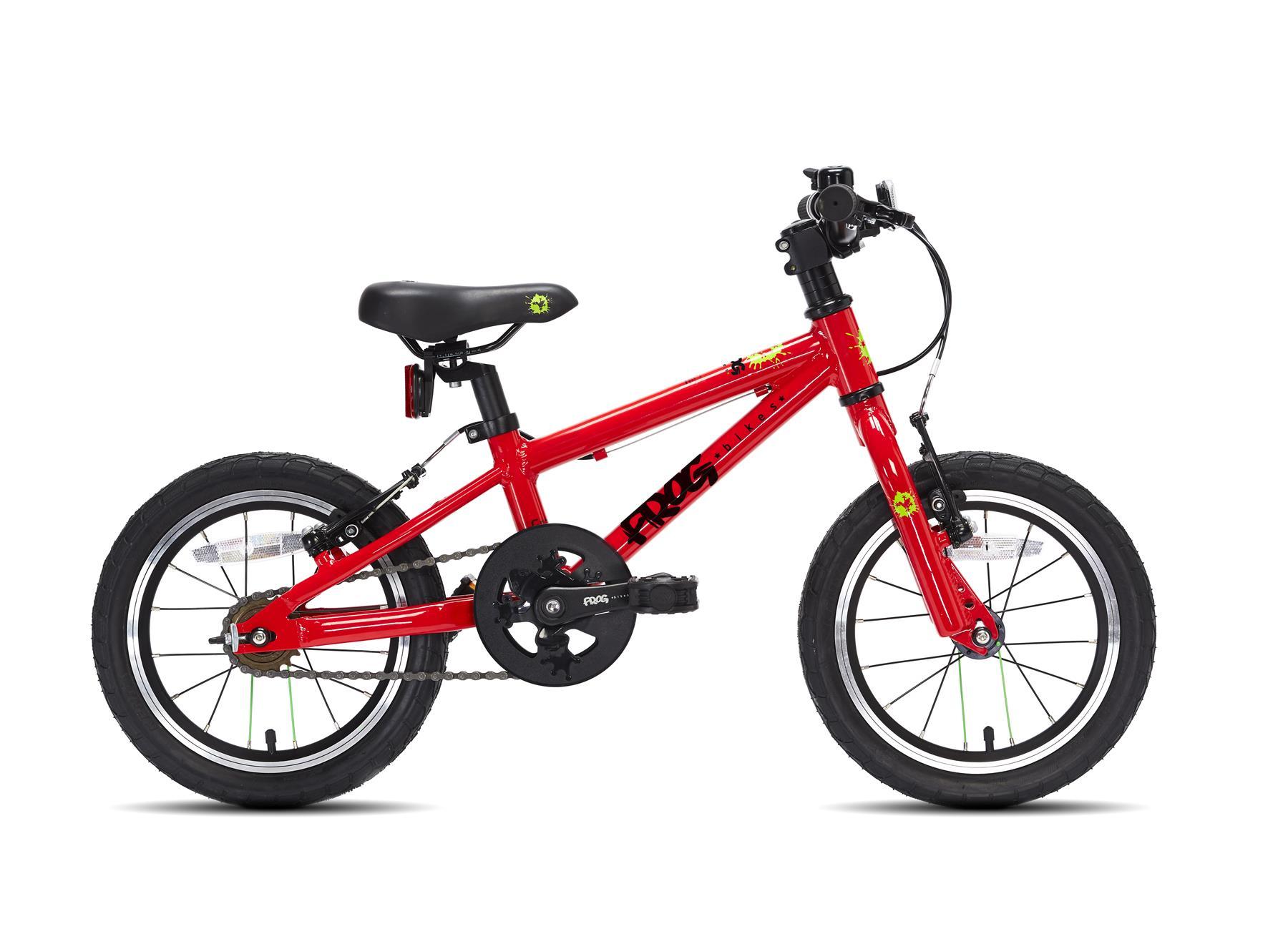 Frog pyörä 43 - Punainen väri