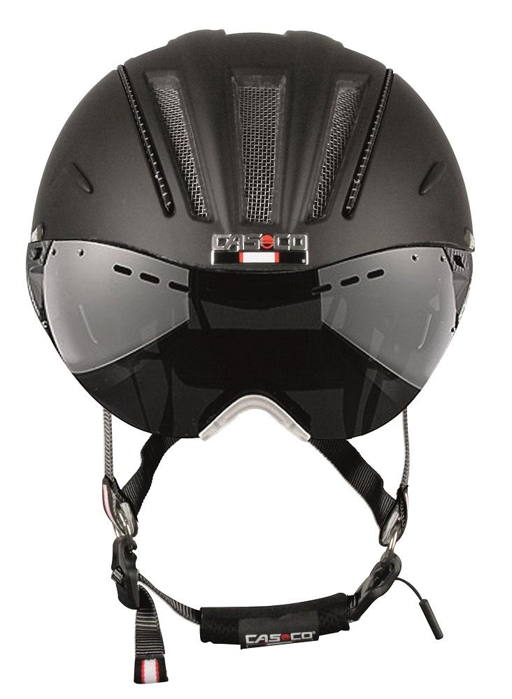 Casco Roadster pyöräilykypärä maskilla - Musta