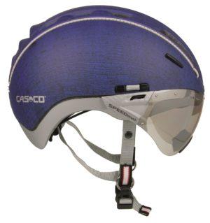 Casco Roadster pyöräilykypärä maskilla - Denim sininen