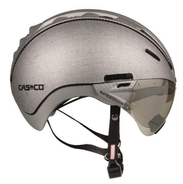 Casco Roadster pyöräilykypärä maskilla - Denim hopea