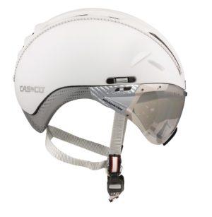 Casco Roadster kypärä maskilla - Valkoinen