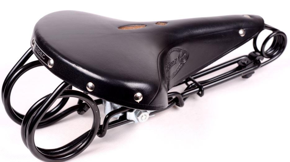Lepper L-85 Hammock nahkasatula - Musta