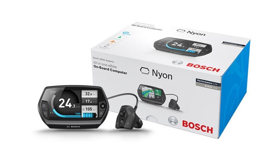 Bosch Nyon näyttö sähköpyörään