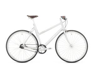Schindelhauer Lotte 8-vaihteinen naisten pyörä - Harjattu alumiini