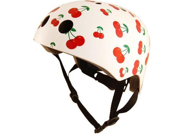 Kiddi Moto Cherry lasten kypärä - Valkoinen