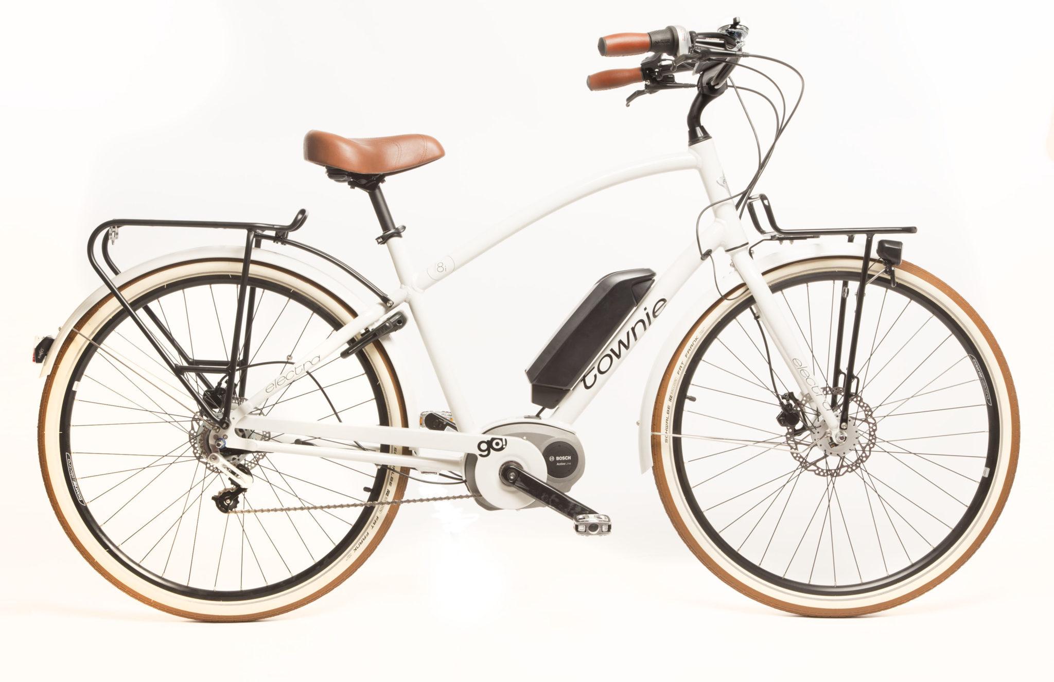 Electra Townie Go! Sähköavusteinen pyörä -  Valkoinen