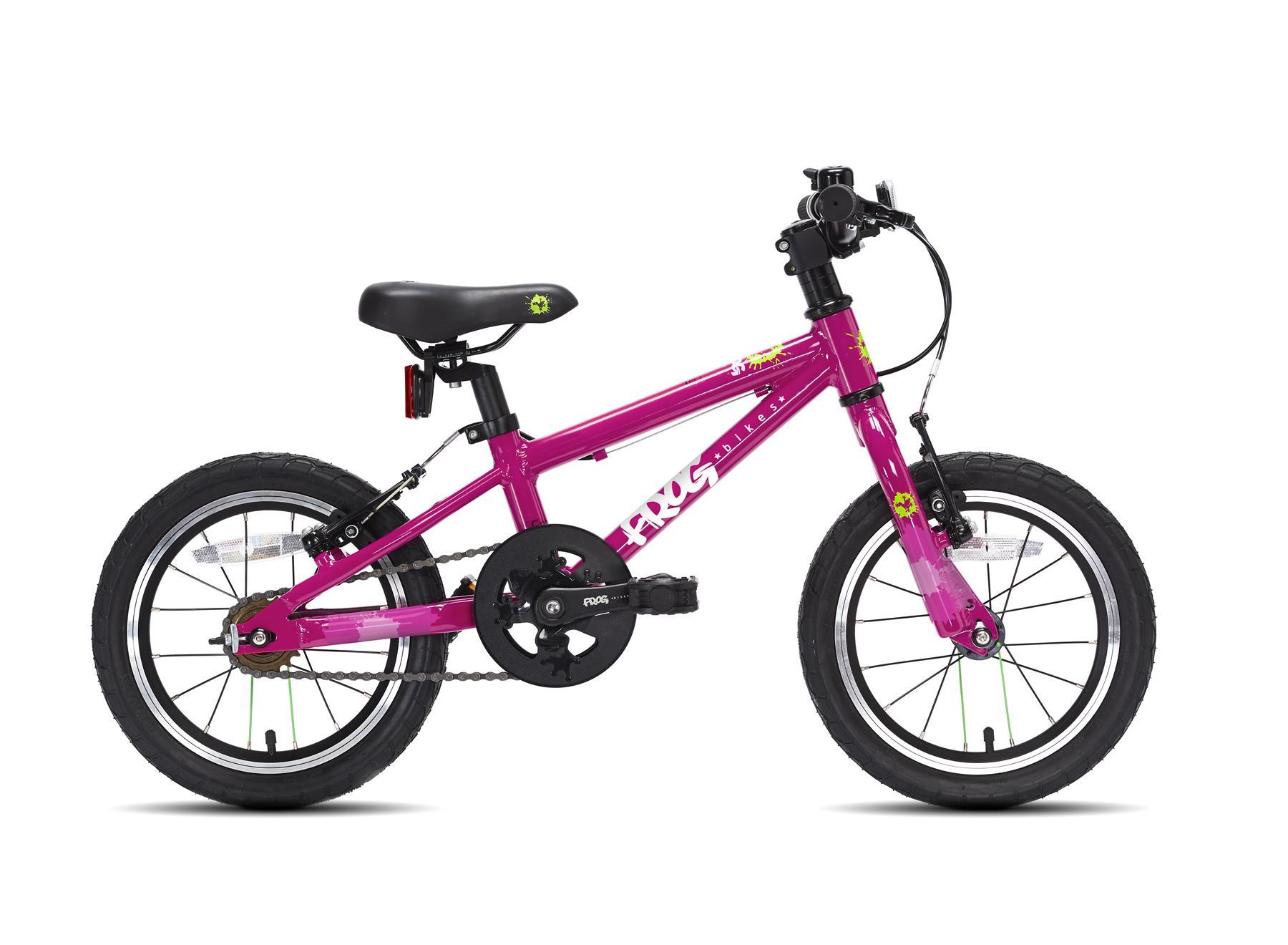 Frog pyörä 43 - Pinkki