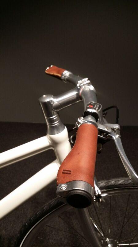Schindelhauer ergo nahkagripit - Ruskea 138mm