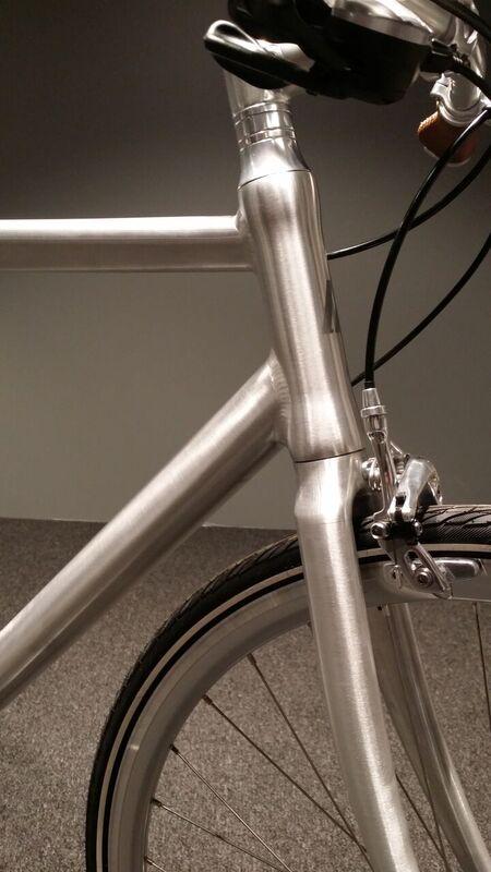 Schindelhauer Ludwig VIII miesten pyörä - Kiillotettu alumiini