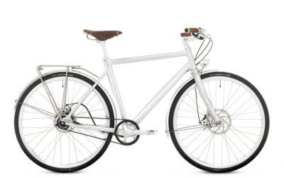 Schindelhauer Friedrich VIII – 8-vaihteinen miesten pyörä – Harjattu alumiini väri