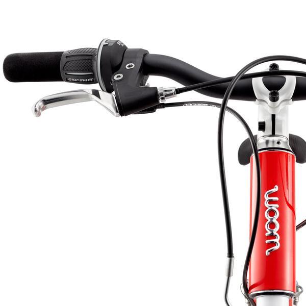 """Woom 5 lasten pyörä 24"""" renkailla - Punainen"""