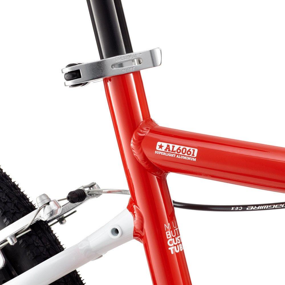 """Woom 6 pyörä 26"""" renkailla - Punainen"""