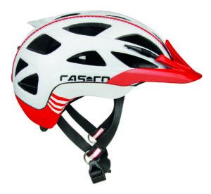 Casco Activ 2 kypärä - Punainen-valkoinen
