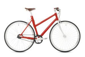 Schindelhauer Lotte 8-vaihteinen naisten pyörä - Punainen