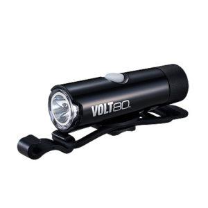Polkupyörän ladattava etuvalo Cateye Volt 80 - musta