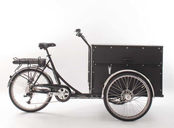 Christiania Bikes P-Box sähköavusteinen laatikkopyörä