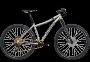 Van Nicholas Zion 29er Titaanirunkoinen yleismaastopyörä
