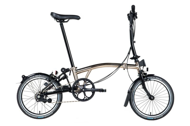 Brompton M6L Nickel Edition