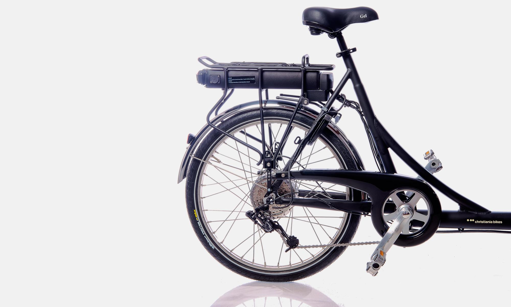 Christiania bikes Light - Sähköavusteinen kuormapyörä