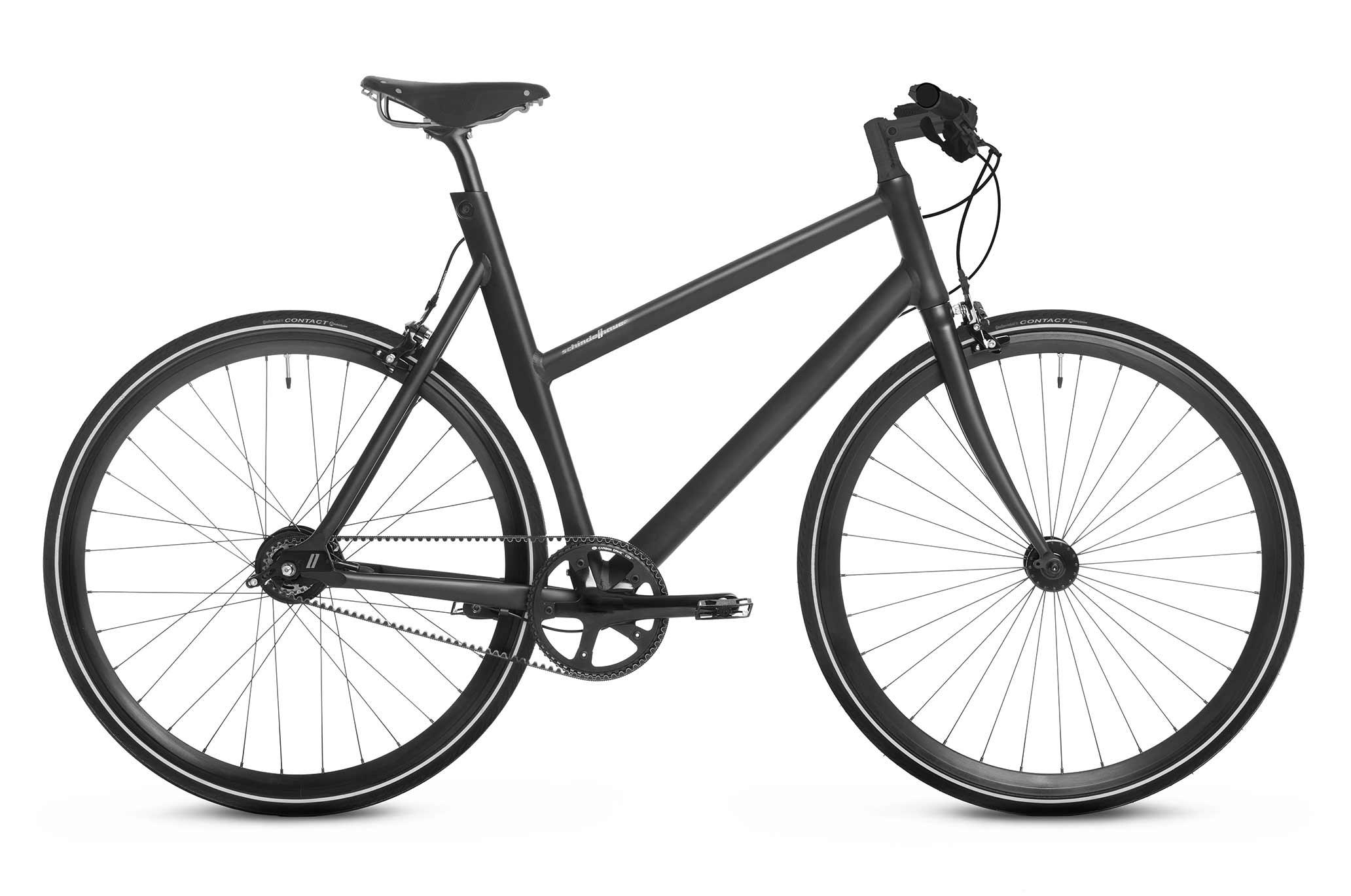 Schindelhauer Lotte 8-vaihteinen naisten pyörä -  Musta