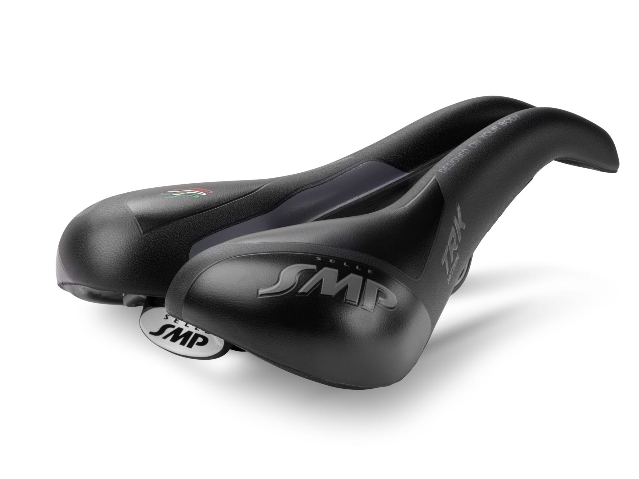 Selle SMP TRK Gel Medium satula - Musta