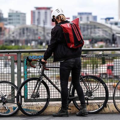 Ortlieb Vario QL3.1 vedenpitävä pyörälaukku