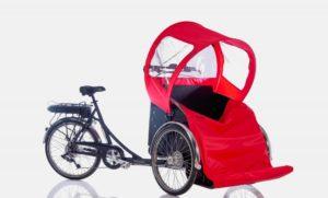 Christiania Bikes Taxi peitto jaloille