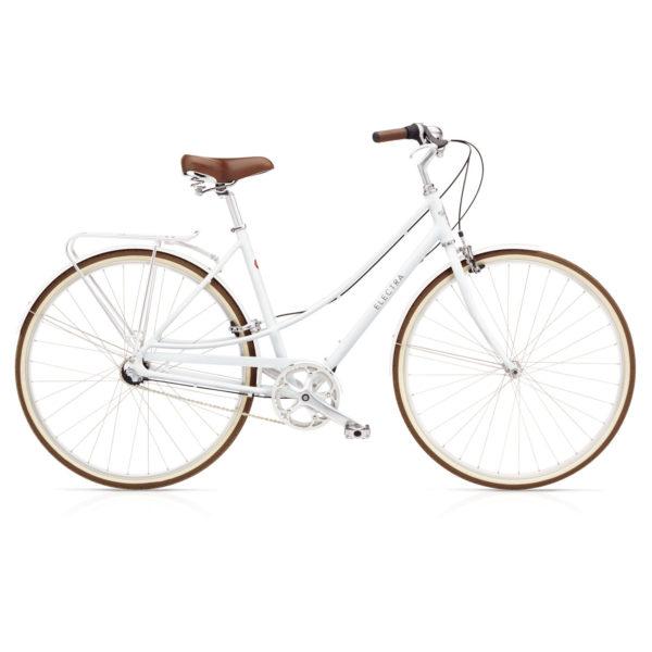 Electra Loft 3i naisten pyörä - Valkoinen
