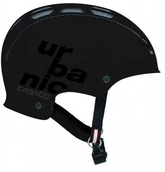 Casco Urbanic TC pyöräilykypärä - Musta