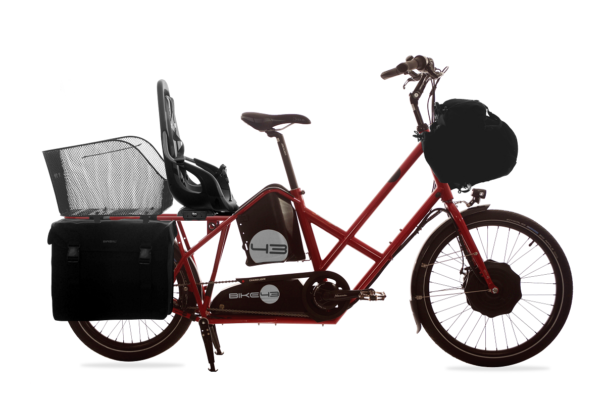 Bike 43 sähköavusteinen lastenkuljetuspyörä - Sport-malli