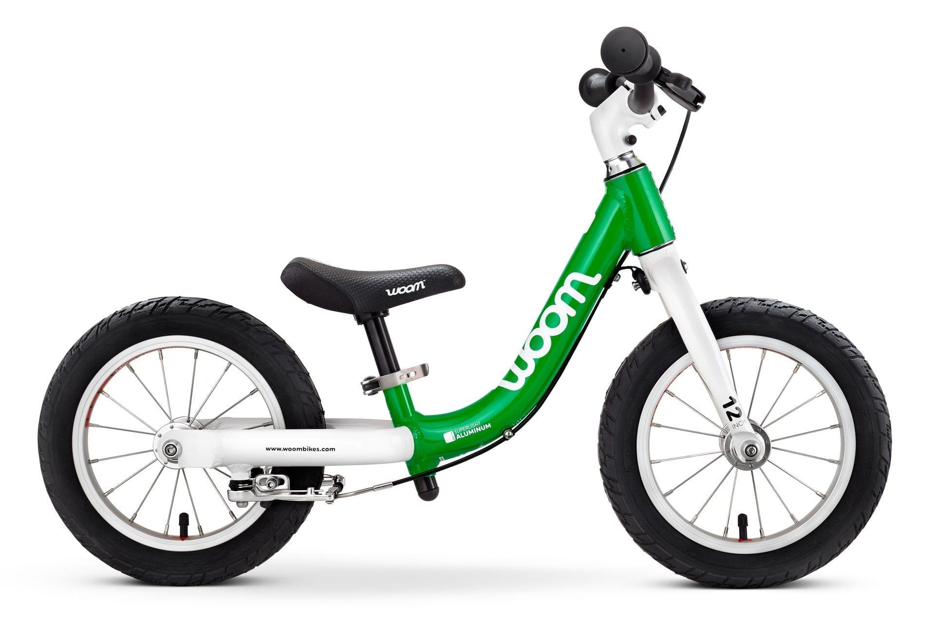 Woom 1 lasten potkupyörä Vihreä