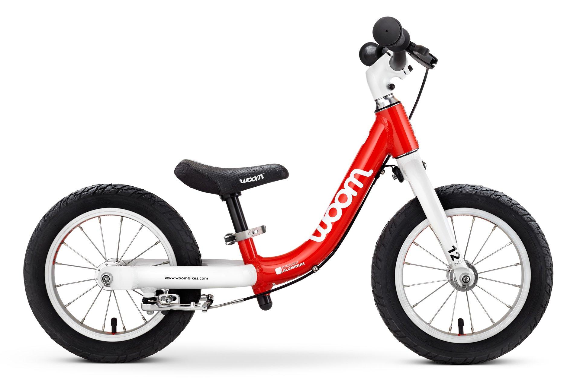 Woom 1 lasten potkupyörä Punainen