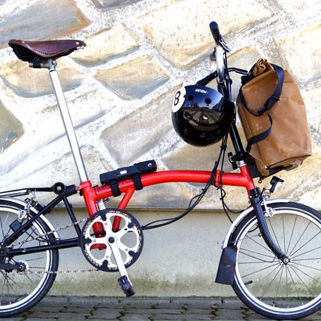 Lumabag Urban pyöräilyreppu adapterilla