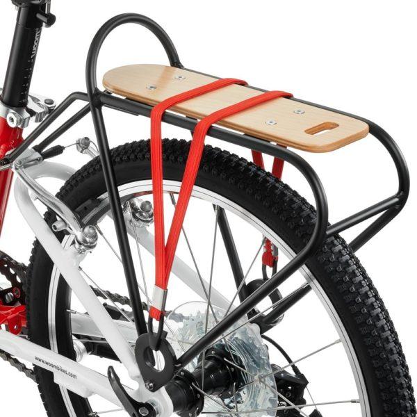 Woom lasten pyörän tavarateline