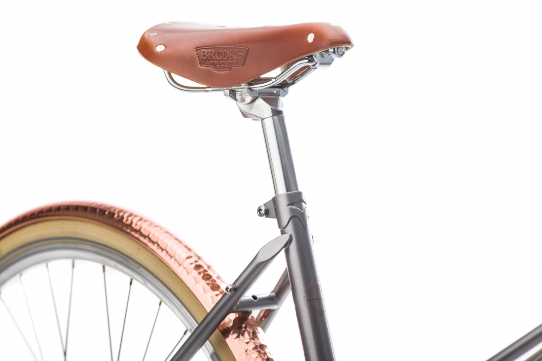 Creme Caferacer Lady Doppio - Gray Rose